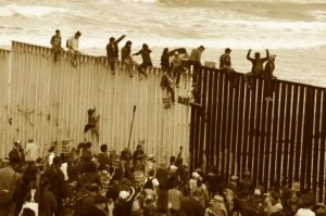climbing-border-wall